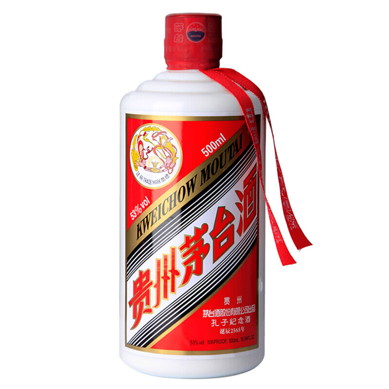 飞天茅台酒正标商标发展史